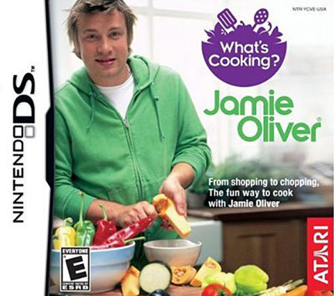 What's Cooking With Jamie Oliver (DS) DS Game