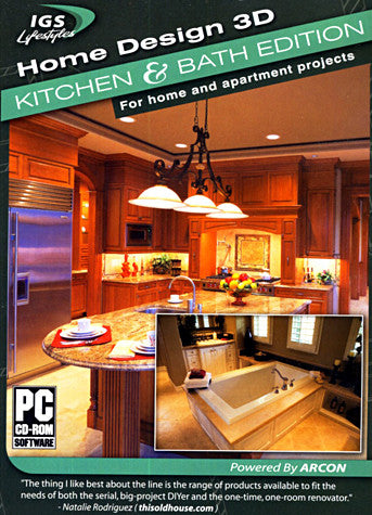 Home Design 3D - Kitchen And Bath Edition (PC) PC Game