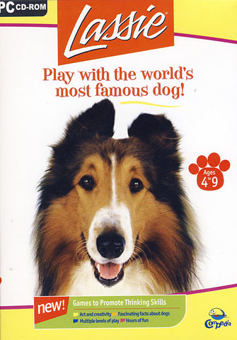 Lassie - Play with the World's Most Famous Dog! (Limit 1 copy per client) (PC) PC Game