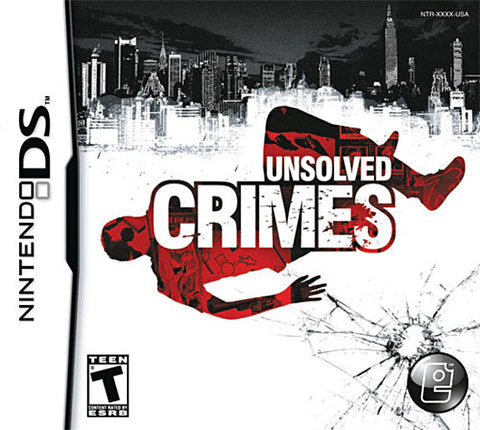 Unsolved Crimes (DS) DS Game