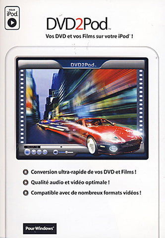 DVD2Pod (French Version Only) (PC) PC Game