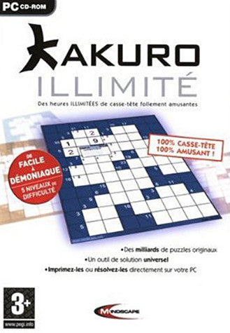 Kakuro illimite (French Version Only) (PC) PC Game