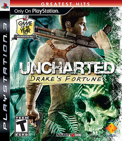 Uncharted - Drake's Fortune (PLAYSTATION3) PLAYSTATION3 Game