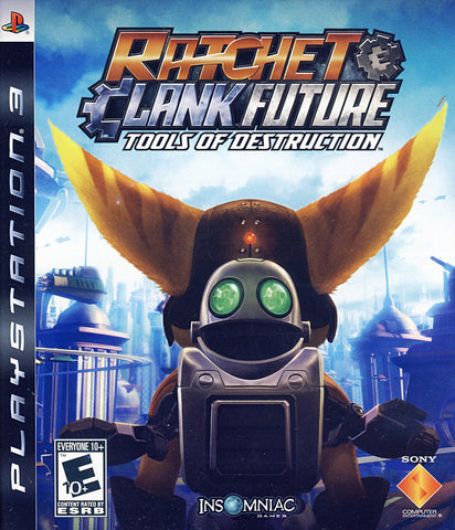 Ratchet And Clank Future - Tools of Destruction (PLAYSTATION3) PLAYSTATION3 Game