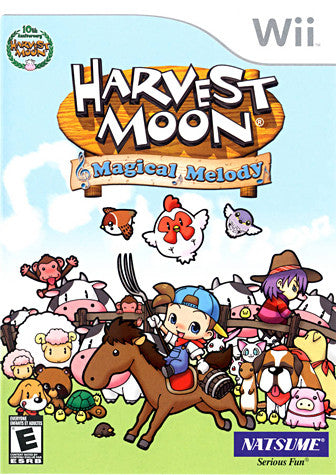 Harvest Moon - Magical Melody (Bilingual Cover) (NINTENDO WII) NINTENDO WII Game