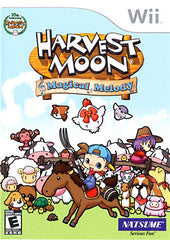 Harvest Moon - Magical Melody (Bilingual Cover) (NINTENDO WII)