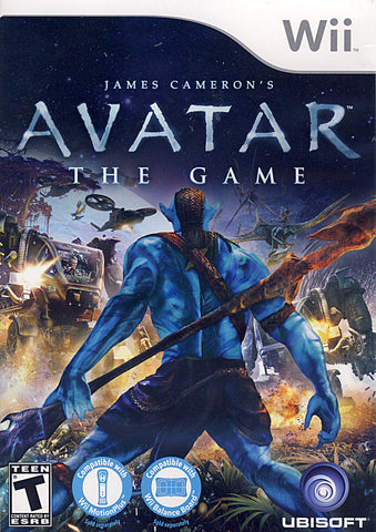 Avatar - James Cameron s (Bilingual Cover) (NINTENDO WII) NINTENDO WII Game