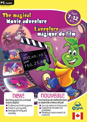 L'Aventure Magique Du Film / The Magical Movie Adventure7-12 ans (PC) PC Game