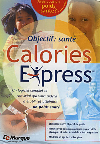 Objectif: Sante - Calories Express (French Version Only) (PC) PC Game