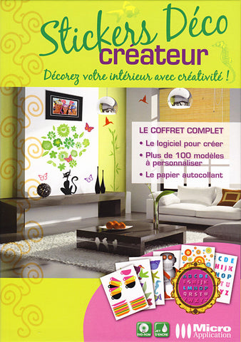 Stickers Deco Createur (French Version Only) (PC) PC Game