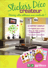 Stickers Deco Createur (French Version Only) (PC)