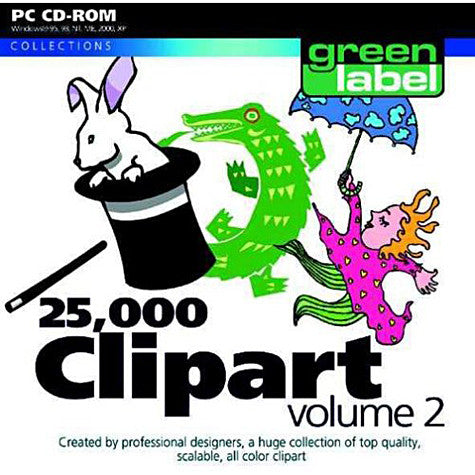 25,000 Clipart Volume 2 (PC) PC Game