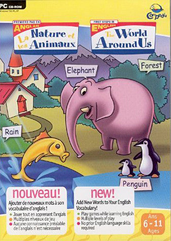 Anglais - La Nature Et Les Animaux / English - The World Around Us (PC) PC Game