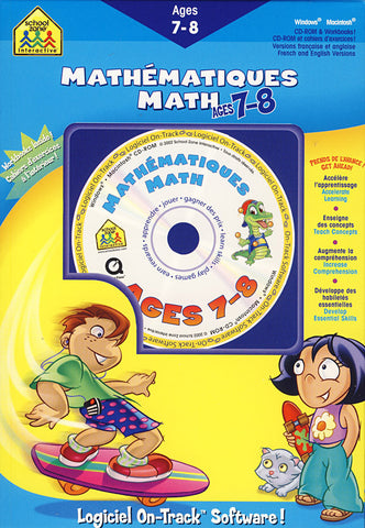 Math Ages 7-8 / Mathematiques Age 7-8 (PC) PC Game