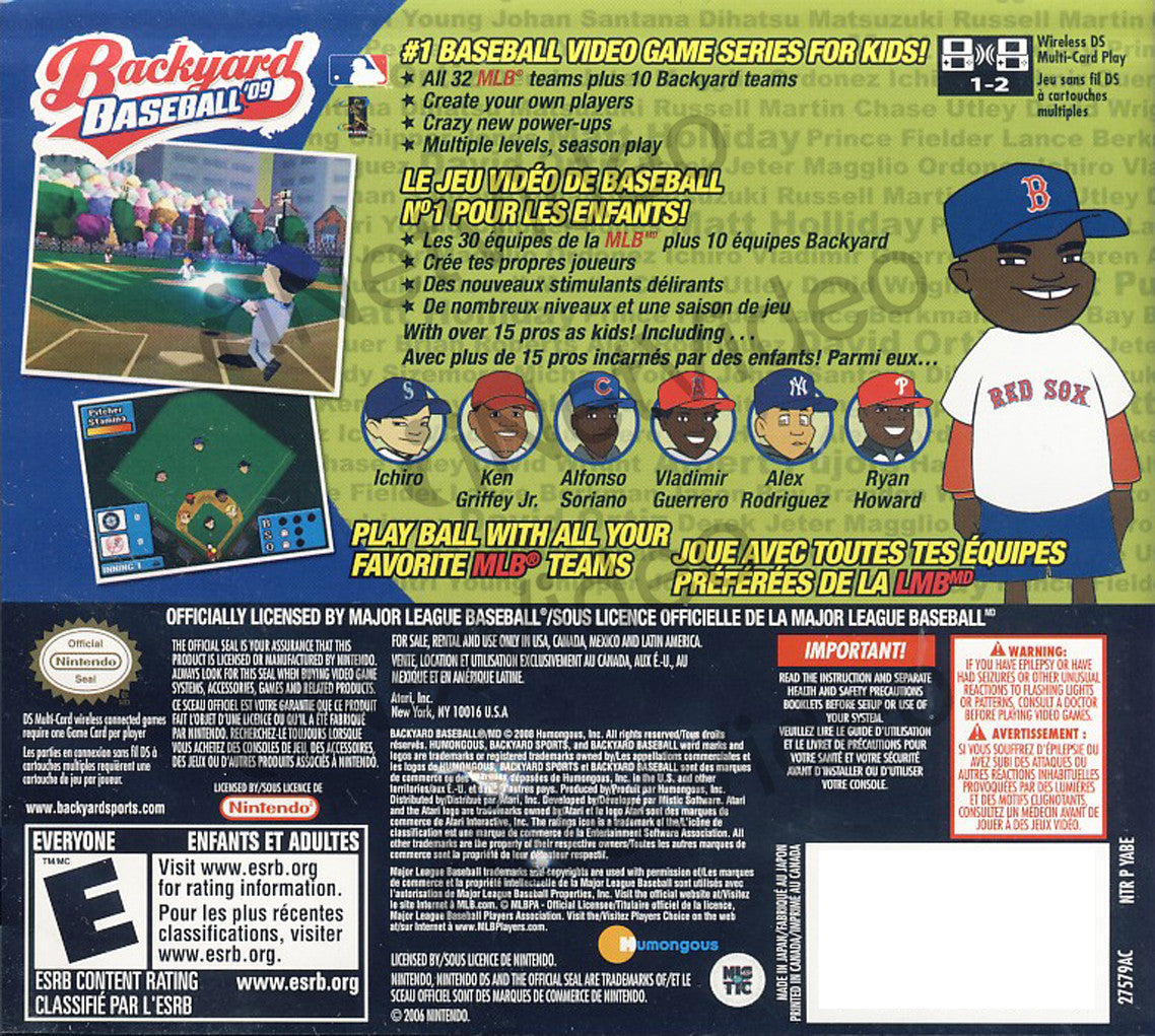 Backyard Baseball 2001 Download