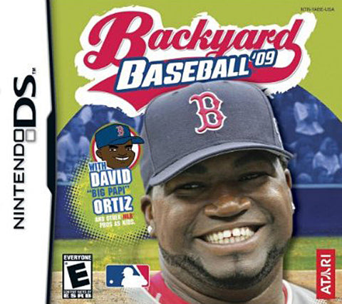 Backyard Baseball 2009 (DS) DS Game