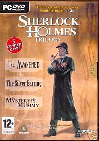 Sherlock Holmes Trilogy (Awakened, Silver Earring & Mystery Of The Mummy) (PC) PC Game