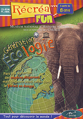 Generation Ecologie (French Version Only) (PC) PC Game