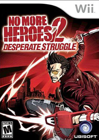 No More Heroes 2 - Desperate Struggle (NINTENDO WII) NINTENDO WII Game