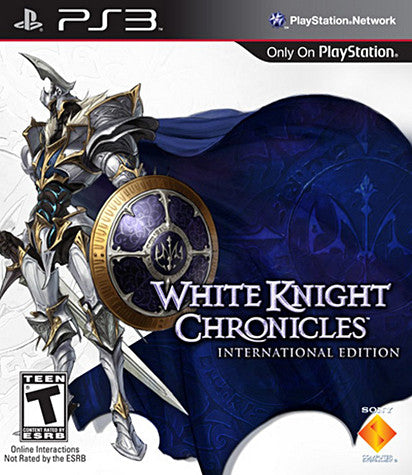 White Knight Chronicles International Edition (PLAYSTATION3) PLAYSTATION3 Game