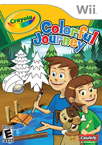 Crayola - Colorful Journey (NINTENDO WII) NINTENDO WII Game