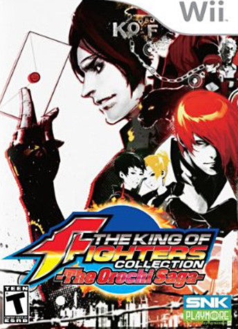 The King of Fighters Collection - The Orochi Saga (Bilingual Cover) (NINTENDO WII) NINTENDO WII Game