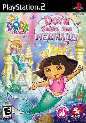 Dora the Explorer - Dora Saves the Mermaids (Limit 1 copy per client) (PLAYSTATION2) PLAYSTATION2 Game