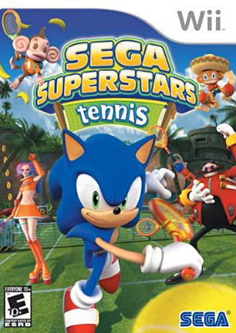 Sega Superstars Tennis (NINTENDO WII) NINTENDO WII Game