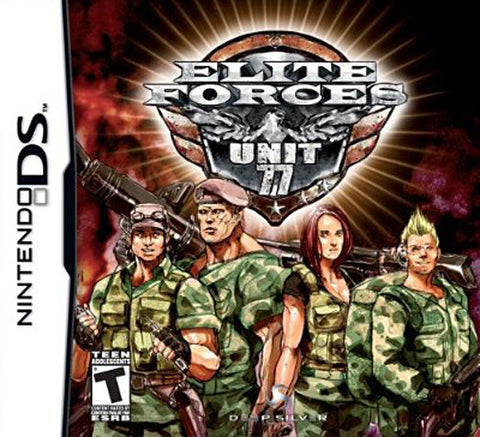 Elite Forces - Unit 77 (Bilingual Cover) (DS) DS Game