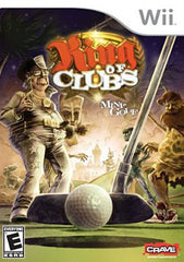 King of Clubs - Mini-golf (NINTENDO WII)