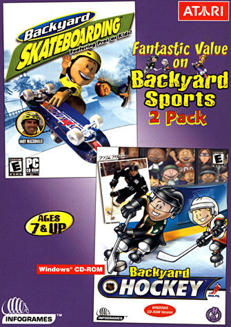 Backyard Skateboarding / Hockey (PC) PC Game