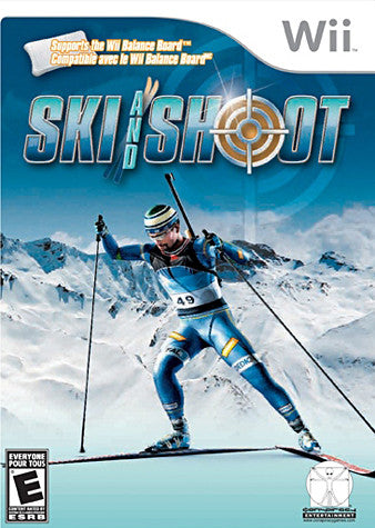 Ski and Shoot (Bilingual Cover) (NINTENDO WII) NINTENDO WII Game