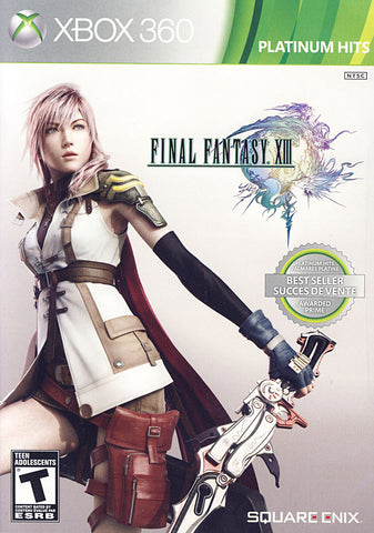 Final Fantasy XIII (Bilingual Cover) (XBOX360) XBOX360 Game