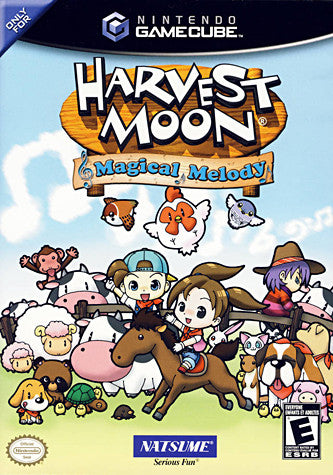 Harvest Moon - Magical Melody (GAMECUBE) GAMECUBE Game