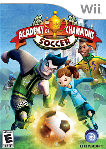Academy of Champions - Soccer (NINTENDO WII) NINTENDO WII Game