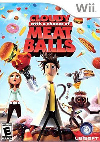 Cloudy with a Chance of Meatballs (Bilingual Cover) (NINTENDO WII) NINTENDO WII Game