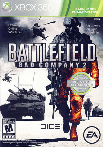 Battlefield - Bad Company 2 (Bilingual Cover) (XBOX360) XBOX360 Game