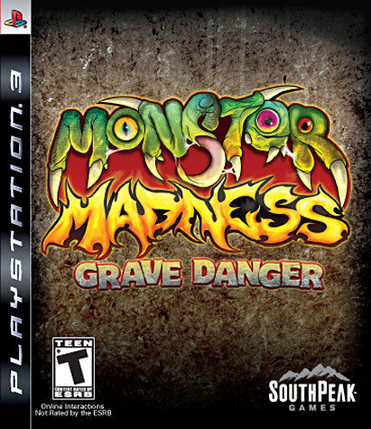 Monster Madness - Grave Danger (PLAYSTATION3) PLAYSTATION3 Game