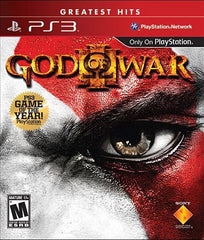 God of War III (3) (Greatest Hits) (PLAYSTATION3)