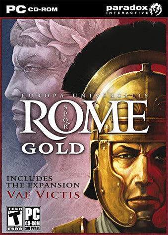 Europa Universalis: Rome - Gold includes the Expansion Vae Victis (PC) PC Game