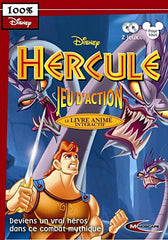 Disney Hercule coffret 2 titres : jeu d'action + livre anime interactif (French Version Only) (PC)