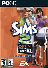 The Sims 2: Open for Business Expansion Pack (PC)