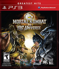 Mortal Kombat vs. DC Universe (PLAYSTATION3)