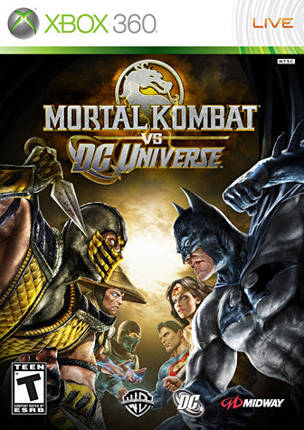 Mortal Kombat vs. DC Universe (XBOX360) XBOX360 Game