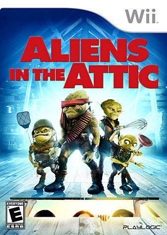 Aliens in the Attic (NINTENDO WII) NINTENDO WII Game