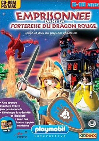 La Forteresse Du Dragon Rouge (PC/Mac) (French Version Only) (PC) PC Game