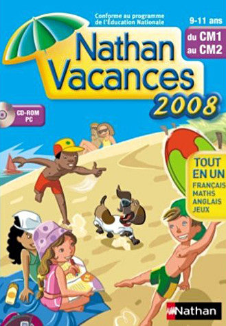 Nathan Vacances 9-11 ans du CM1 au CM2 (French Version Only) (PC) PC Game