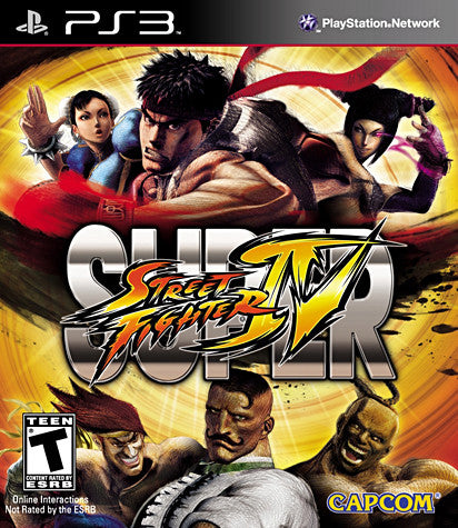 Super Street Fighter IV (Bilingual Cover) (PLAYSTATION3) PLAYSTATION3 Game