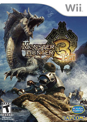 Monster Hunter 3 Tri (NINTENDO WII) NINTENDO WII Game