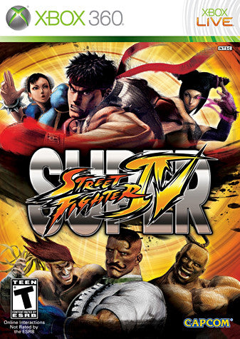 Super Street Fighter IV (Bilingual Cover) (XBOX360) XBOX360 Game